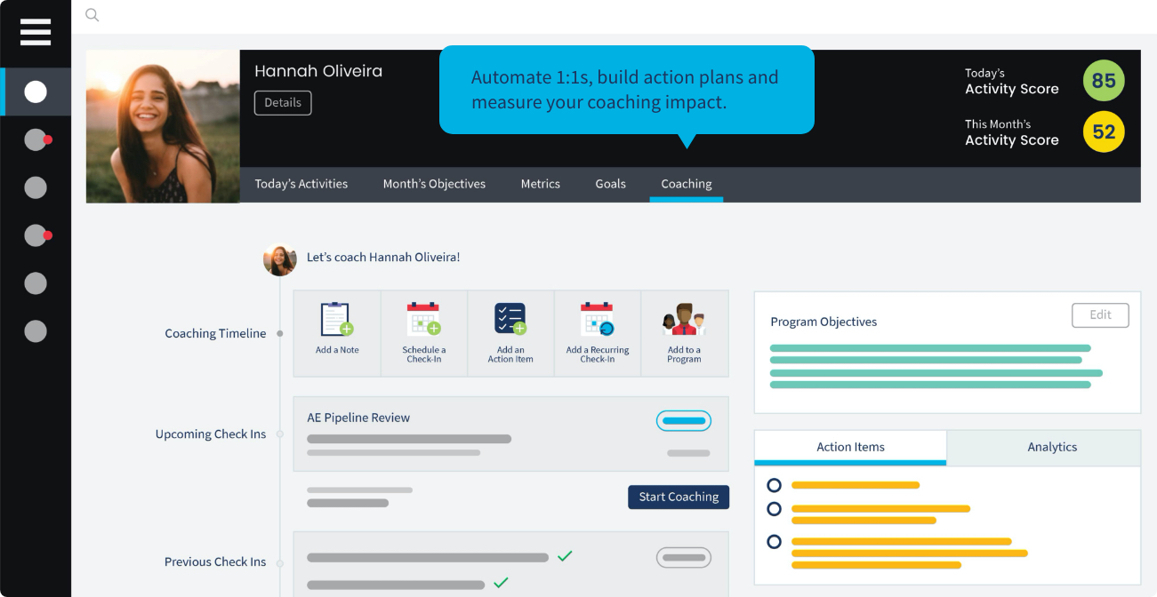 Ambition Sales Gamification Software